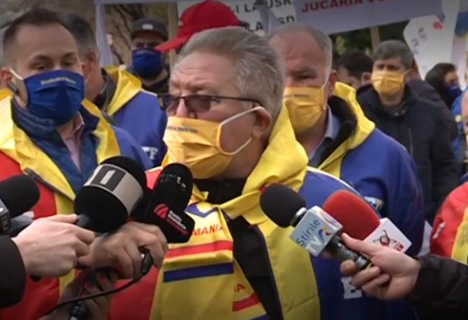 """Sindicatul lui Ion Rădoi, amenințări pentru Florin Cîțu: """"Nu veți scăpa!"""""""