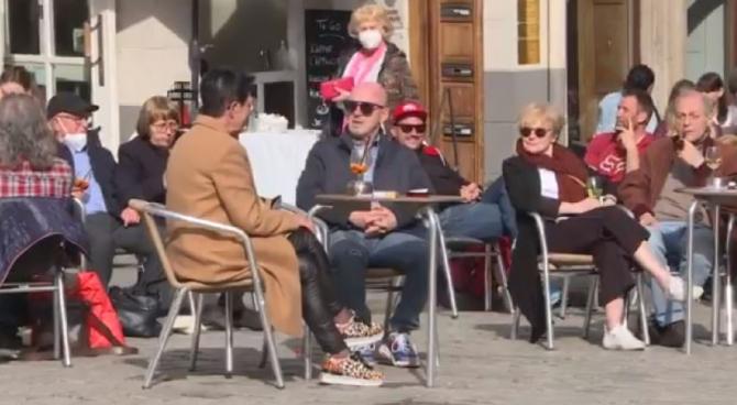 viata normala in Tuebingen cu test covid negativ