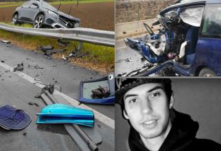 Adrian Cristian Iacob, românul mort în accidentul din Subbiano (Foto: corrierediarezzo.corr.it)