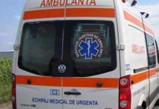 accident rutier ambulanta