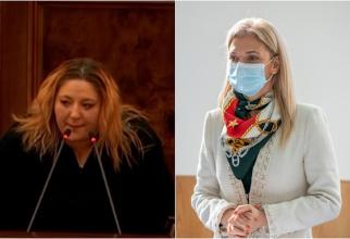"""Alina Gorghiu cere sancţionarea Dianei Şoşoacă """"Nu poartă mască de protecţie în sala de plen şi instigă la ură"""""""