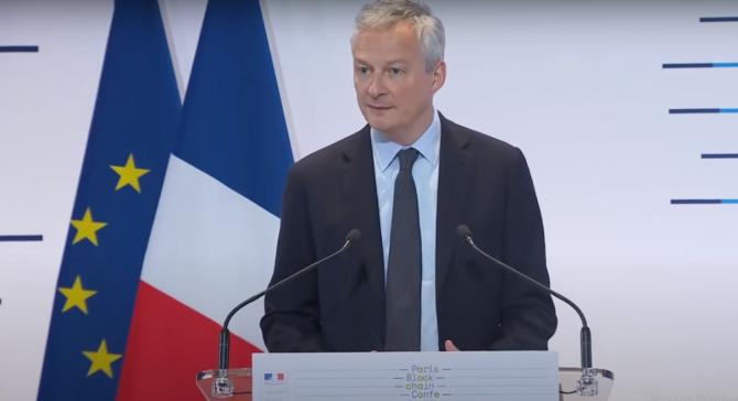 Bruno Le Maire (captura video)