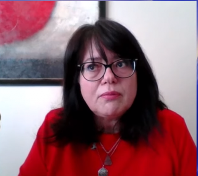 Carmen Solomie - Presedintele Rombel