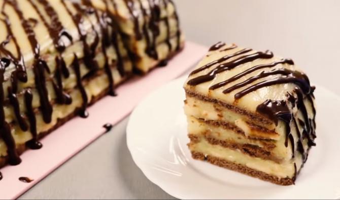 Cel mai ieftin tort fără coacere: Moale, delicat și delicios. Te vei îndrăgosti iremediabil de această rețetă
