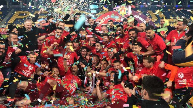 CFR Cluj a câștigat Supercupa României