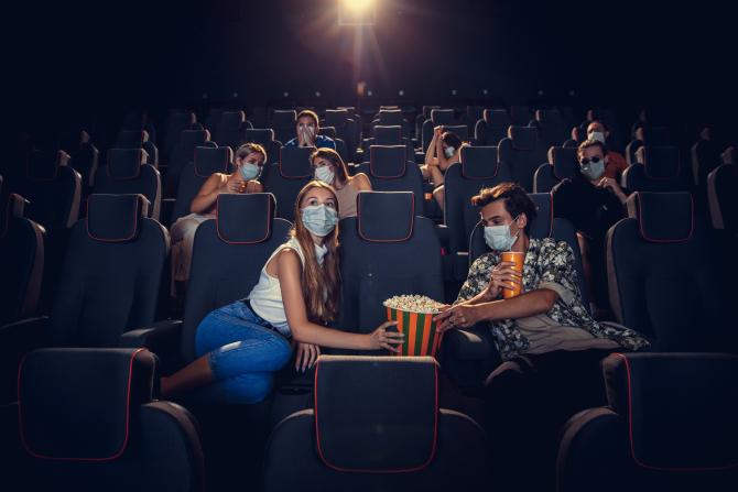 Cinematografele s-au redeschis în mai multe regiuni din Italia după relaxarea restricţiilor