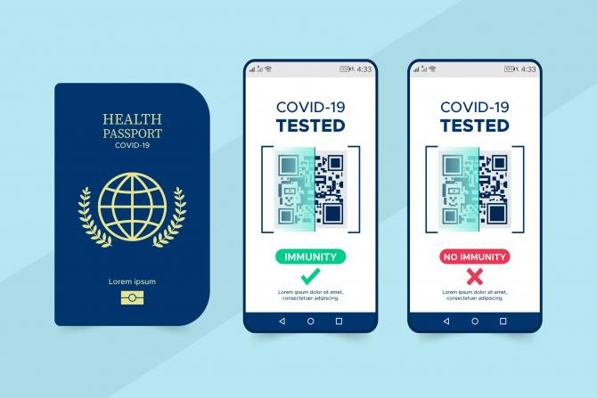 """Danemarca, prima țară care a lansat """"pașaportul COVID"""". Amenzi uriașe pentru cei care nu respectă regulile"""