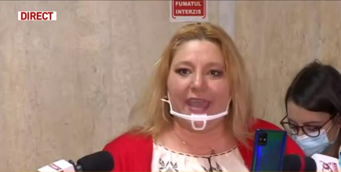 Diana Șoșoaca a făcut scandal monstru in Parlament. A sunat la 112 să spună că e agresată