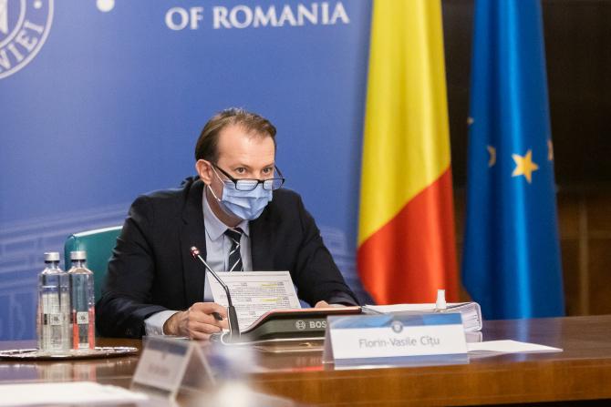 """Florin Cîțu, despre posibilitatea ca Voiculescu să devină consilier onorific la MS: """"Nu se pune problema"""""""