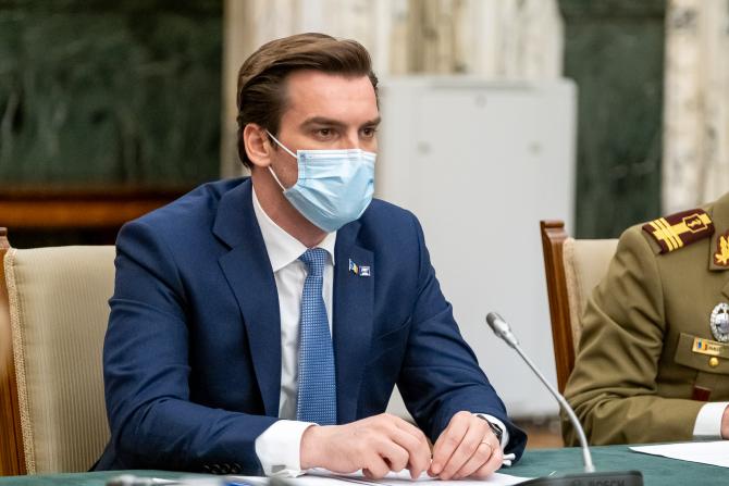 Florin Cîțu a delegat atribuţiile de ministru interimar al Sănătăţii către secretarul de stat Andrei Baciu
