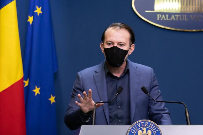 Florin Cîțu nu și-a dat acordul pentru ordinul criteriilor privind carantinarea
