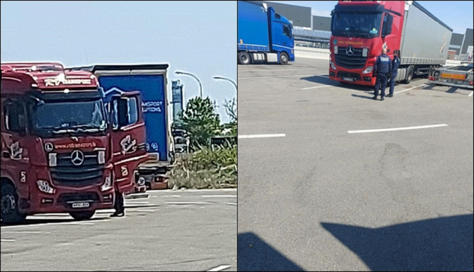"""Franța. Șofer de TIR, găsit spânzurat în cabină """"S-a mai dus un coleg! Dorul de casă și problemele te termină cu zile!"""""""