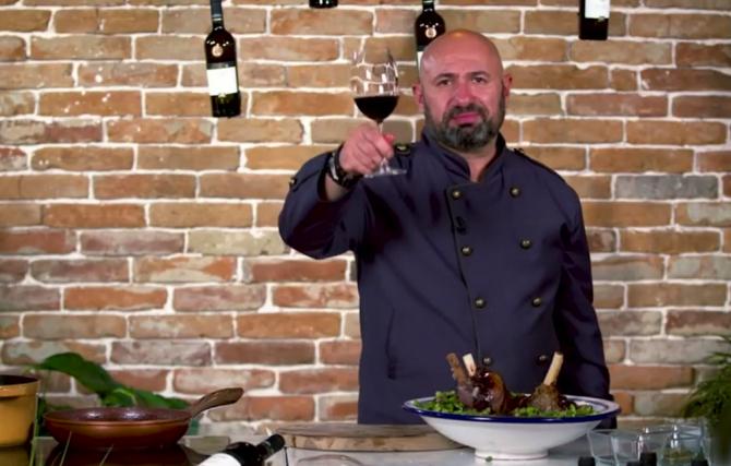 Friptura de miel a lui chef Cătălin Scărlătescu pentru masa de Paște. Un preparat cu totul inedit