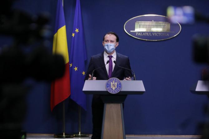 """Guvernul va prelungi astăzi starea de alertă. Florin Cîțu: """"Vom vedea dacă se schimbă ceva cu privire la Paşte"""""""