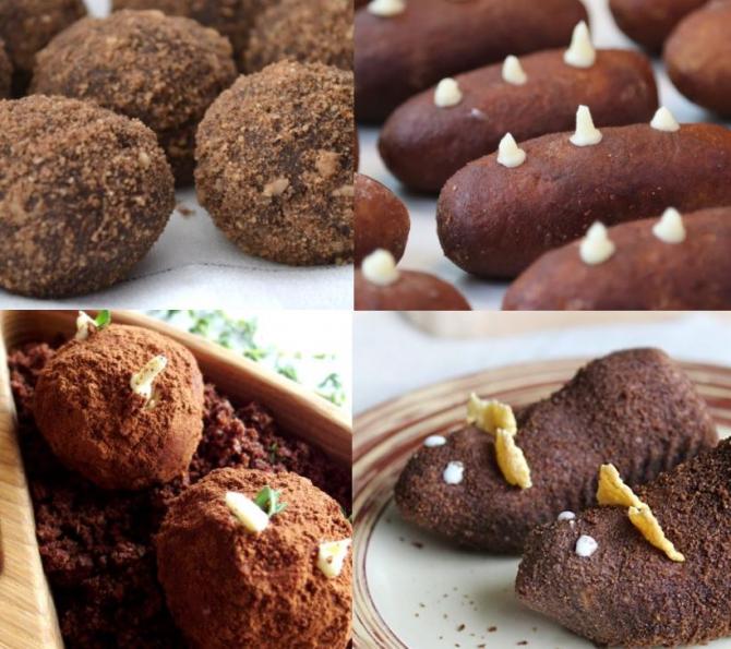 Kartoshka, prajitura-cartof de post