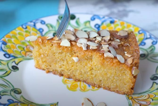 Lemon polenta cake: Prăjitura cu mălai cu care chef Sorin Bontea l-a cucerit pe Nicolai Tand, varianta de post