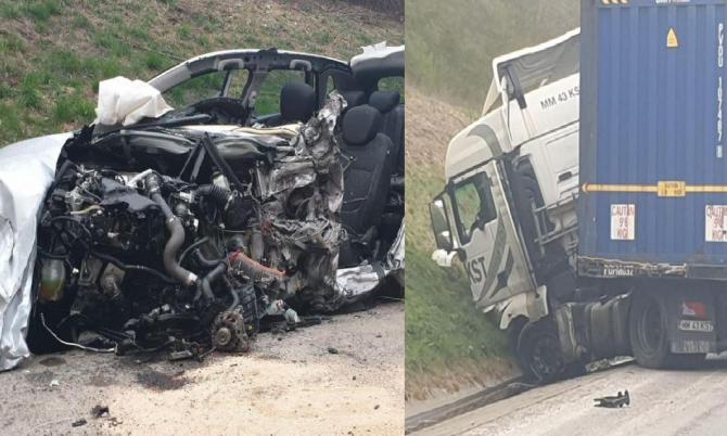 Un sofer roman de TIR a provocat un accident mortal in Franta