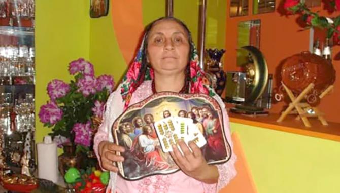 Vrăjitoarea Dinarca Brătianu (Sursa foto: Vremea Nouă)
