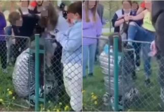Fată româncă, umilită şi bătută de mai mulţi adolescenţi, într-un parc