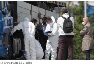 Italia. El este șoferul român TIR, găsit mort în cabină. Cornel avea gâtul tăiat și cuțitul între picioare