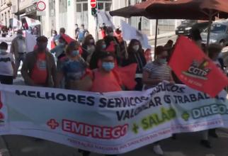 Mii de manifestanţi au protestat la Porto împotriva summitului social al UE - VIDEO