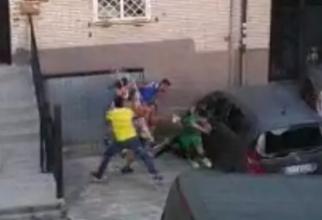 Românul a fost bătut de doi tineri italieni în centrul orașului Sezze (Sursa: Il Messaggero)