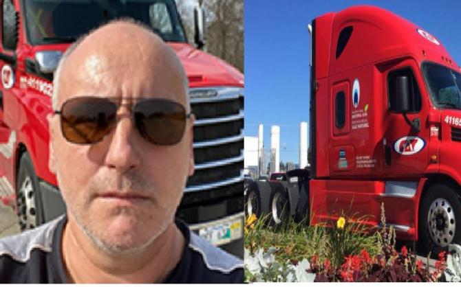 Canada. Un șofer român de camion a primit titlul de Înger al Drumului. Daniel a salvat un coleg rănit într-un accident rutier