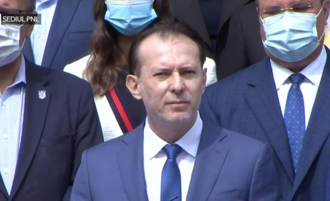 """Florin Cîțu: """"Am decis să mă înscriu în competiția pentru șefia PNL"""""""