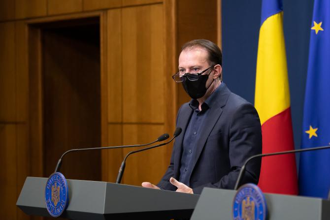 """Florin Cîţu: """"România are cea mai rapidă revenire economică din istorie"""""""