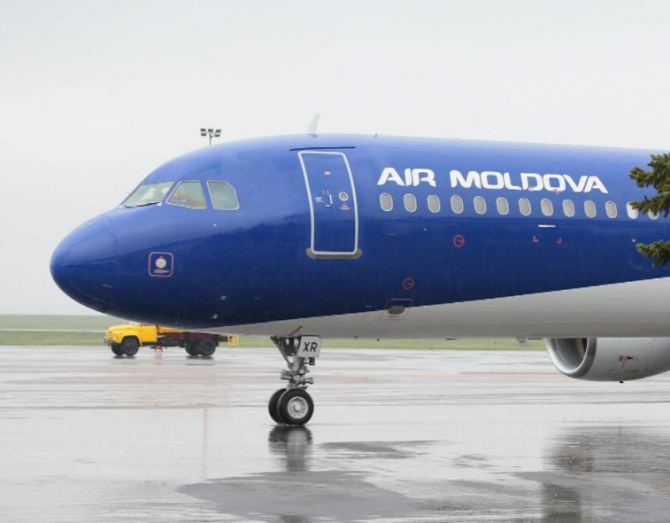 Incident pe un aeroport din Rusia. Un avion ce moldoveni a fost avariat la aterizare