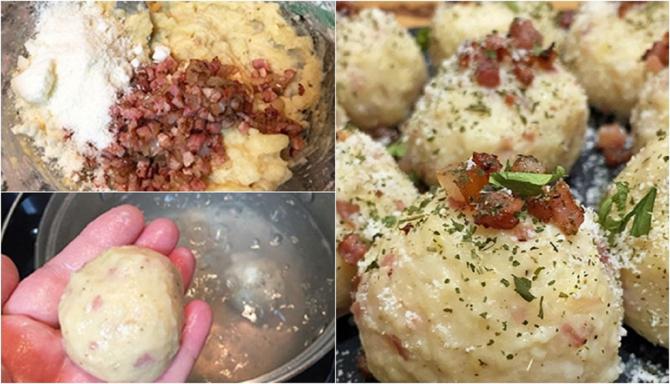 Knodel, chiftele germane din cartofi. Cel mai delicios și rapid preparat. Secretul ca să iasă fragede