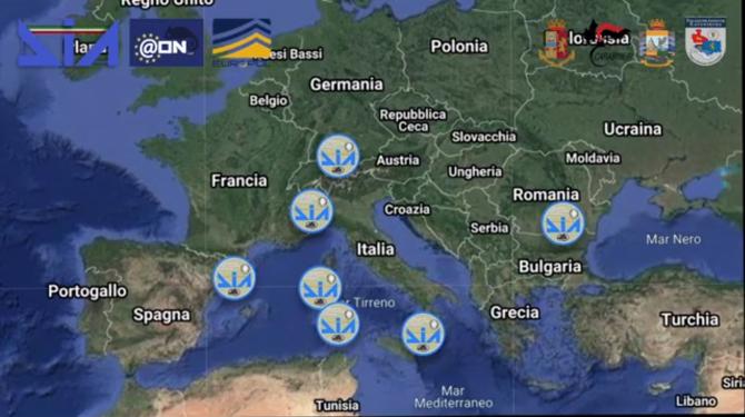 Mafia Ndragheta, anihilată: Români reținuți, după operațiunea mamut a Europol în toată Europa (VIDEO)