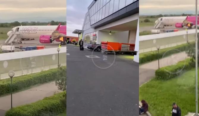 Pasagerii avionului de pe ruta Satu Mare-Londra, evacuaţi de urgenţă Sursa Batea Ciprian