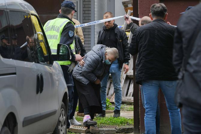 Femeia de 68 de ani suspectată că ar fi ucis-o pe româncă. Foto: Filip Krainčanić via Nova.rs