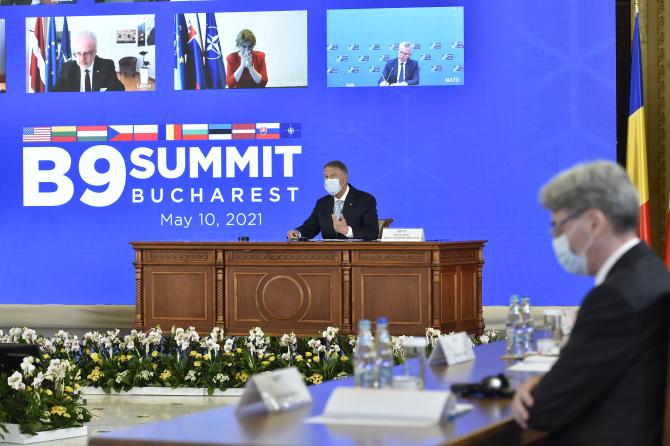 """Summitul B9. Iohannis: """"Situaţia de securitate la Marea Neagră, îngrijorătoare"""""""
