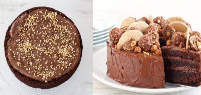 Tort Ferrero Rocher, cu ciocolată și alune. Rețeta unui desert cu straturi rafinate și un gust deosebit