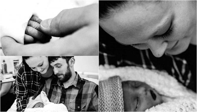 """UK. Durerea sfâșietoare a unei mame după ce Amalia i-a murit în burtică: """"Patru zile mi-am îmbrățișat copilul mort și i-am citit povești"""""""