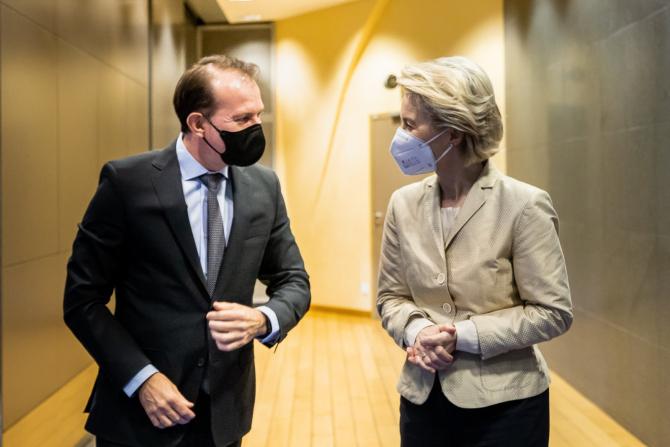 Vești bune de la Bruxelles, după întâlnirea dintre Cîțu și Ursula von der Leyen