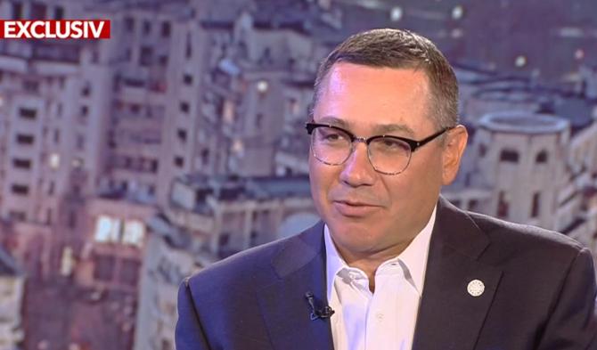"""Victor Ponta, despre candidatura sa la prezidențiale: """"Eu îmi doresc mai mult"""""""