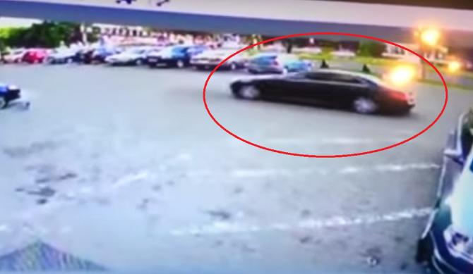 VIDEO. Momentul în care explodează Mercedesul lui Ioan Crișan. Un martor spune că mirosea a praf de pușcă