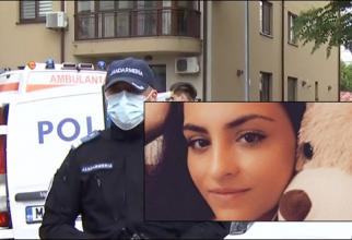 Ea este tânără mămică româncă, ucisă de concubin sub ochii fetiței ei de 4 ani. Andreea avea doar 23 de ani