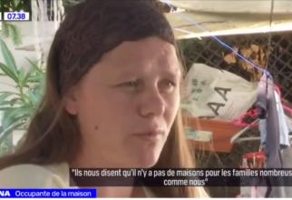 Franța. Locuință ocupată ilegal de o familie de români cu 9 copii: Proprietara doarme în garaj de doi ani, nu îi poate evacua
