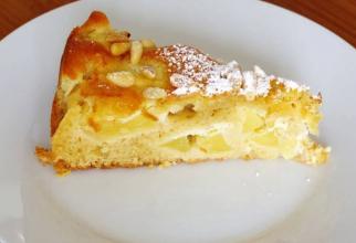 Prăjitură cu mere și semințe de pin. Rețeta unui desert delicat și parfumat