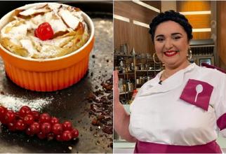 Prăjitura lui mamaie, reţeta pas cu pas gătită de Narcisa Birjaru. A făcut senzație la Chefi la cuțite