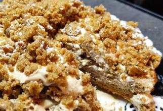 Prăjitură ușoară din cafea. Se face rapid și este delicioasă. Fără unt, smântână și lapte. Are doar 160 calorii