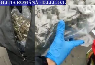 Român, prins cu 4 kg de cannabis. Drogurile fusese trimise din Spania, print-o societate de transport internațional