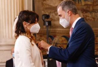 """Spania. Româncă, decorată de rege cu Ordinul de Merit Civil: """"Nu credeam că voi trăi asta!"""""""