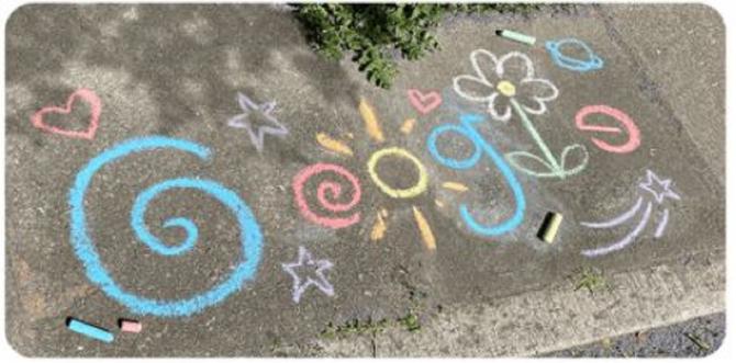 1 Iunie 2021 - Doodle Google
