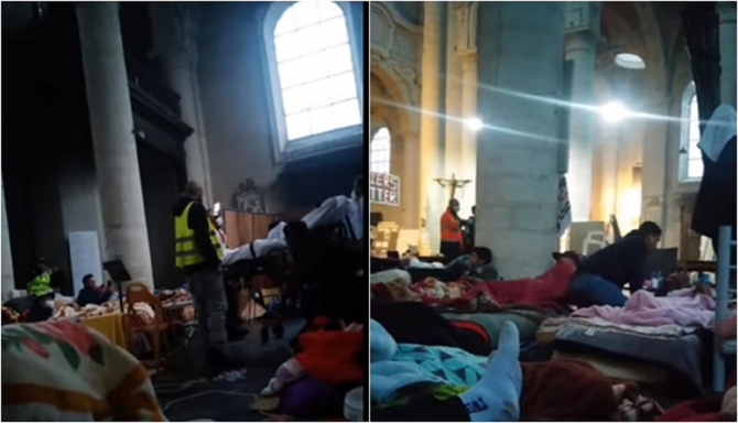 400 de muncitori străini, greva foamei în Belgia. Guvernul federal, pus sub presiune