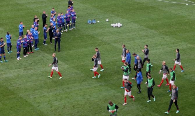 Euro 2020. Meciul Danemarca - Finlanda, dus la bun sfârșit după prăbușirea lui Eriksen
